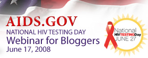 Banner for HIV.gov National HIV Testing day webinar