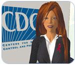 CDC's second life avatar
