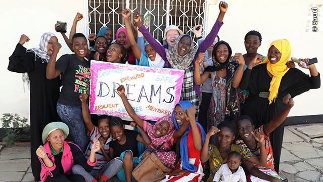 A group photo of the DREAMS Partnership participants in Tanzania.