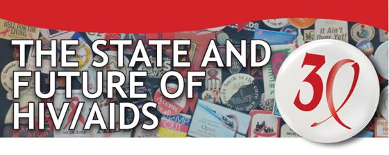 30 Years of AIDS Webinar Banner