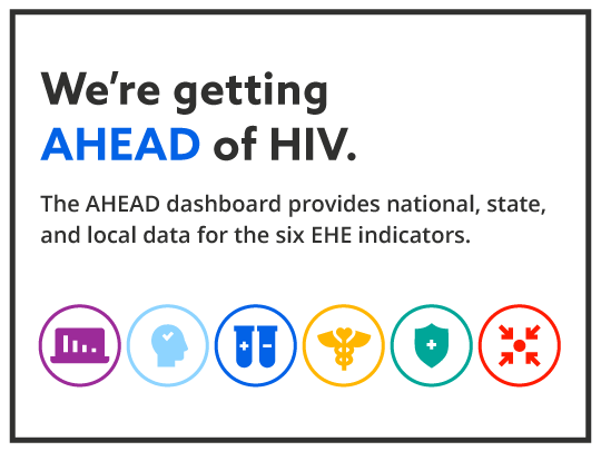 We're getting AHEAD of HIV.