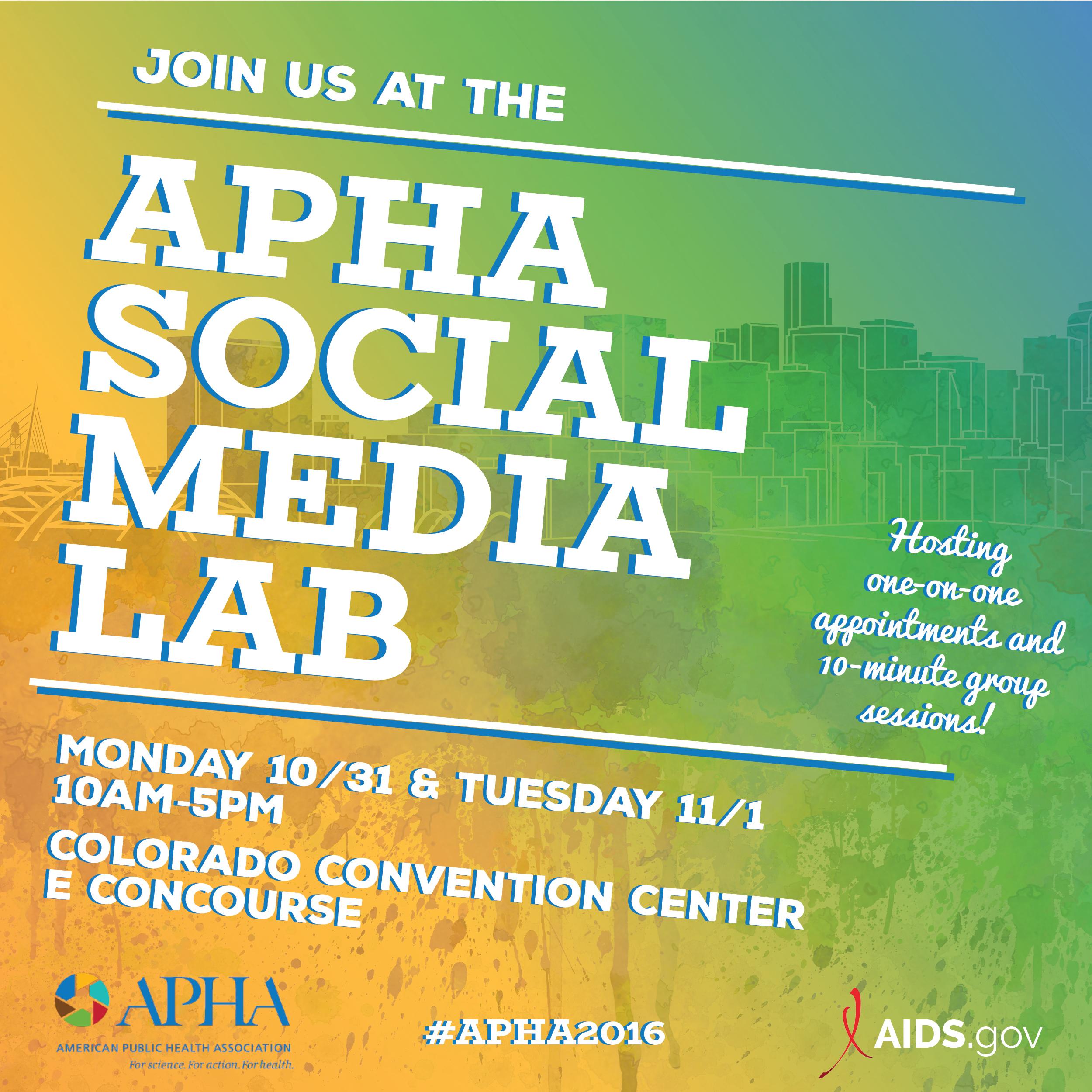apha2016-socialmedialab