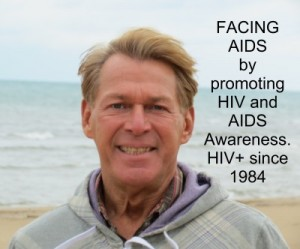 Brad McIntyre Facing AIDS Photo