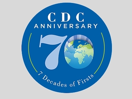 CDC 70th anniversary logo - resized July 2016