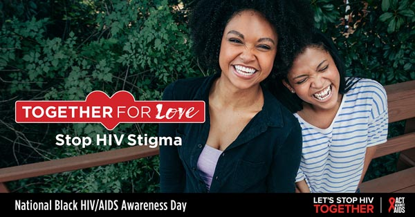 Together for Love. Stop HIV Stigma.