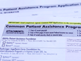Common Patient Assistance Program Application Form