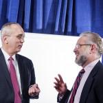 Doug Dietrich and Dr. Valdiserri
