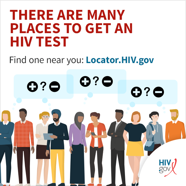 There are many places to get an HIV test