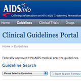 hiv opportunistic infection treatment guidelines