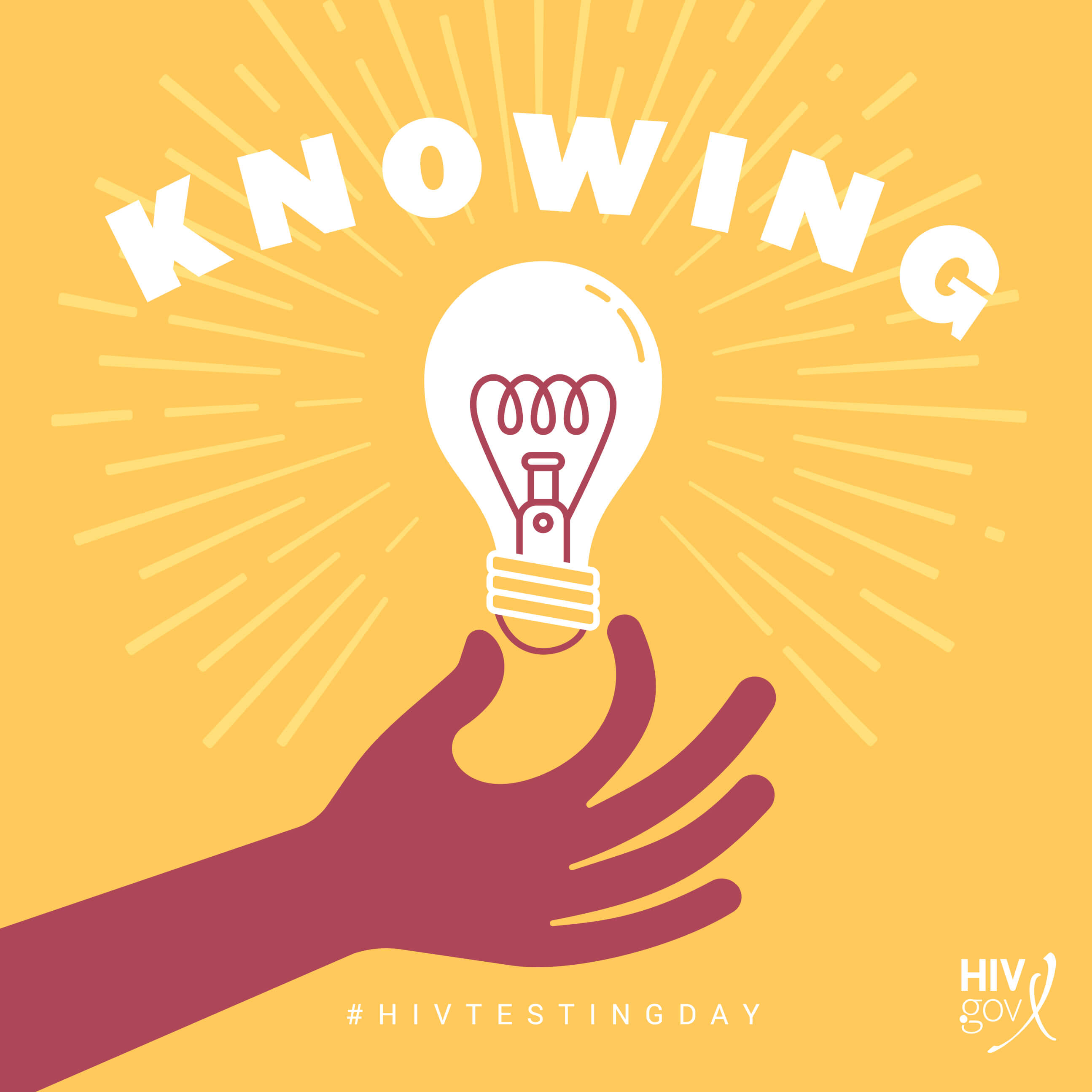 Knowing #HIVTESTINGDAY