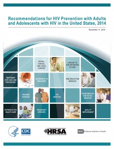 Recommendations for HIV prevention with adults and adolescents l