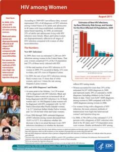HIV among women