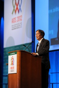 Dr. Koh at AIDS 2012