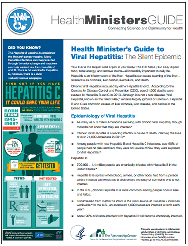 Health Ministers Guide to Viral Hepatitis