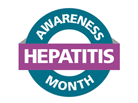 Hepatitis Awareness Month logo - cropped May 18 2016