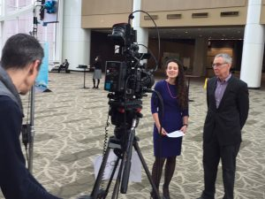 Dr. Dieffenbach and Anne Rancourte at CROI 2017