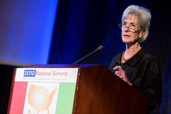 Kathleen Sebelius VH Summit