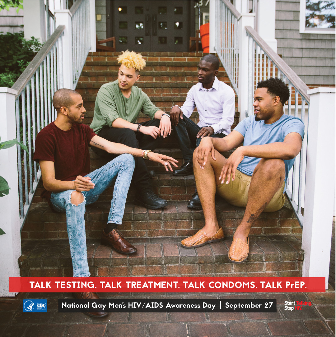 National Gay Men's HIV Awareness Day CDC Promotional Image