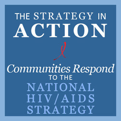 The Stratey in Action. Communities respond to the National HIV/AIDS Strategy