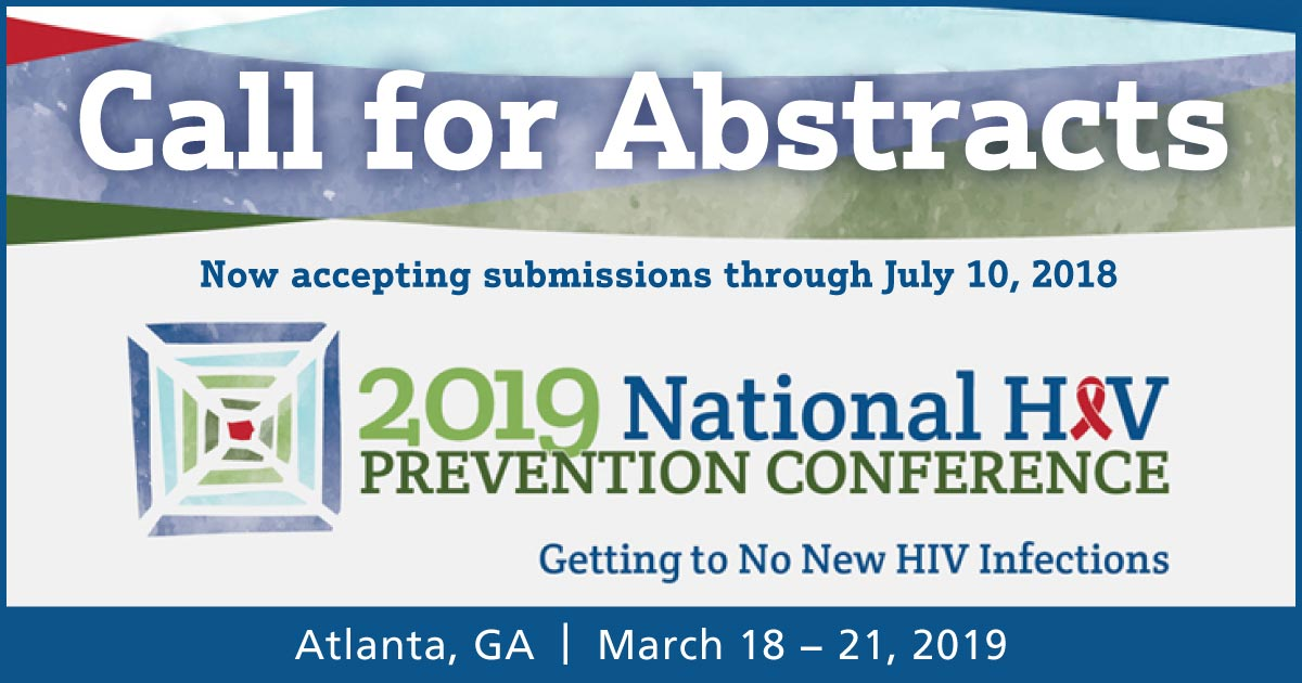 2019 National HIV Prevention Conference Abstract Submission Q and A
