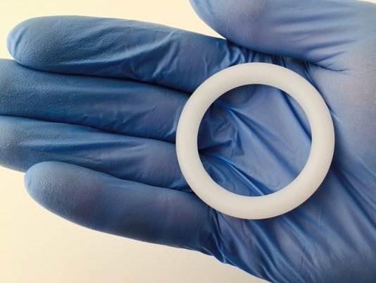 NIAID image - vaginal ring - ASPIRE study