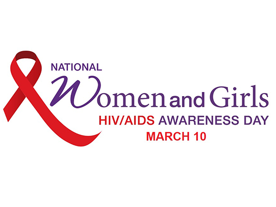 National Women and Girl AIDS Awareness Day - March 10