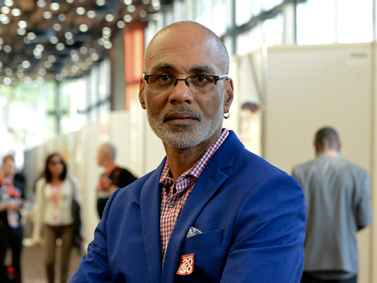 Phill Wilson, founder of the Black AIDS Institute,