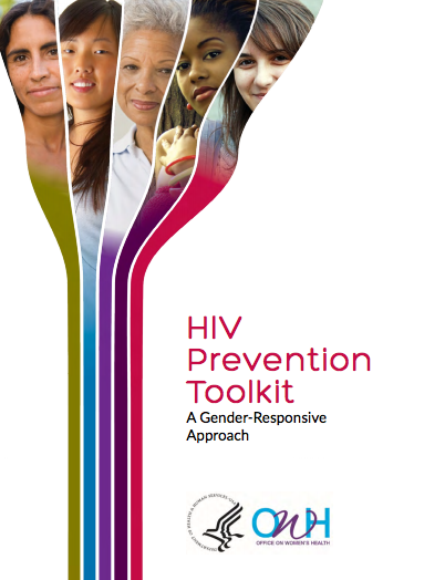 Cover of OWH HIV Prevention Toolkit