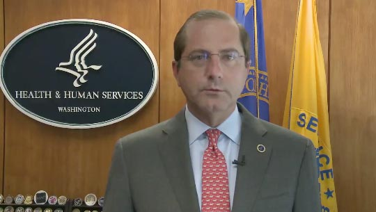 Secretary Azar's message for HIV Testing Day