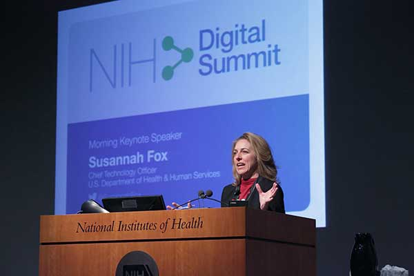 Susannah Fox, Chief Technology Officer, U.S. Dept. of Health and Human Services