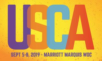USCA logo. Sept 5-8 2019 - Marriott Marquis WDC