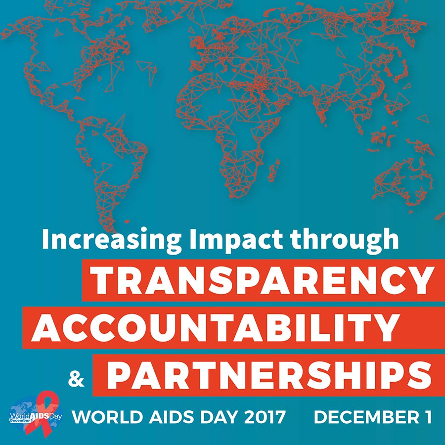 World AIDS Day. December 1, 2017