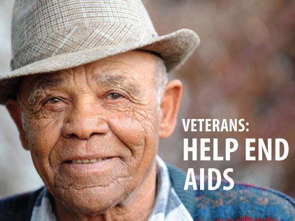 Veterans help end AIDS