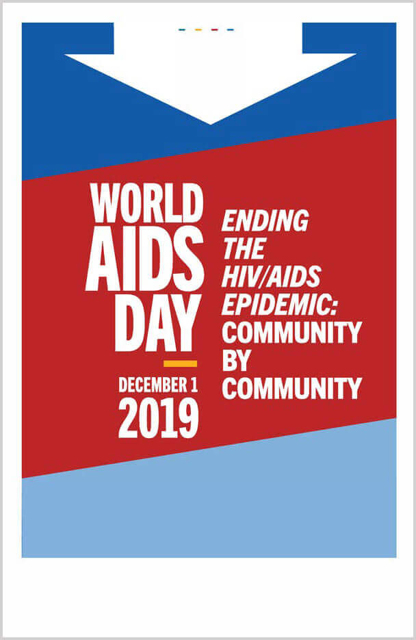 world aids 2019 poster