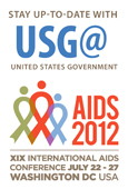AIDS 2012 Badge