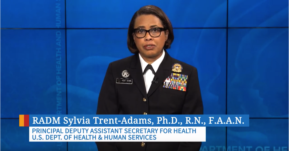 RADM Sylvia Trent-Adams on HIV Prevention