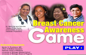 Breast Cancer Awareness Game