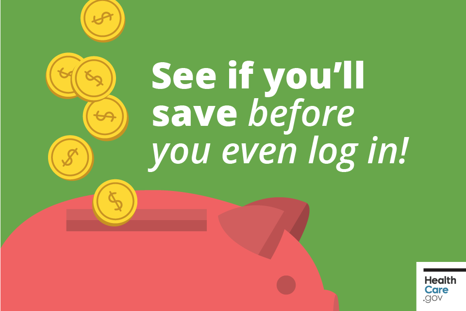 See if you'll save before you even log in!