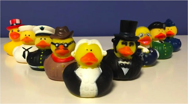 Ducks in suits - Digitalgov Snapchat blog