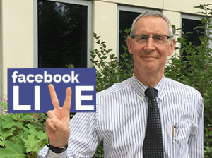 Facebook Live with Carl Dieffenbach