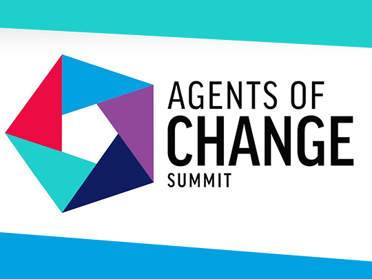 Agents of Change Summit Logo