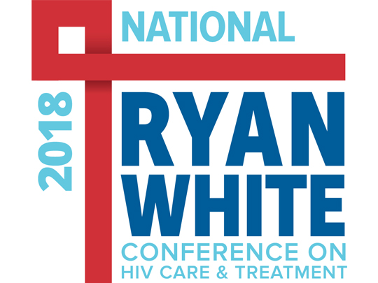 Logo image for the 2018 Ryan White Conference on HIV Care and Treatment