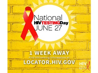 National HIV Testing Day image