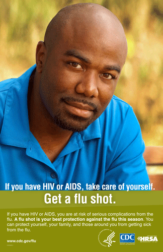Get a flu Shot. Read more at www.cdc.gov/flu