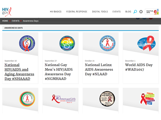 HIV.gov Events Homepage