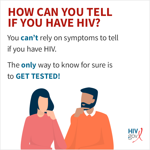 Symptoms of HIV | HIV gov