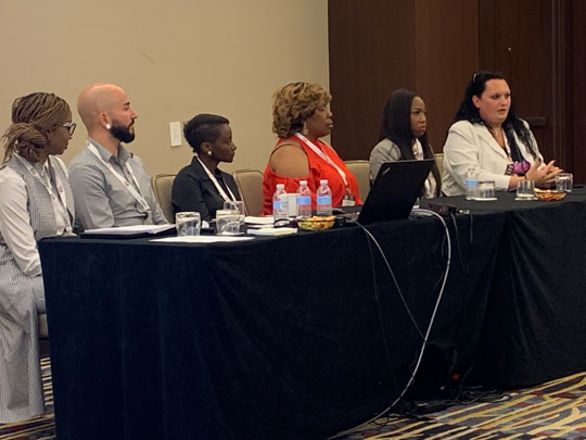 "Panelists from USCA pathway session ""Ending the HIV Epidemic with Implementation Science in HRSA's Ryan White HIV/AIDS Program"""
