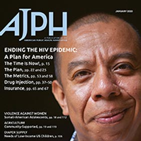 American Journal of Public Health's feature on Ending the HIV Epidemic, including commentary by ADM Brett Giroir