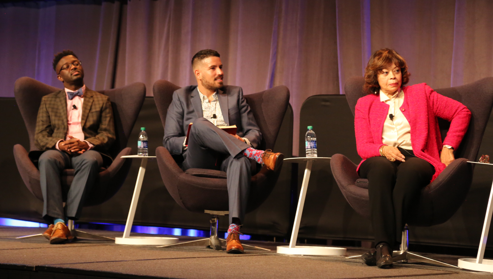 Photo of panel at closing plenary at CDC's 2019 National HIV Prevention Conference.