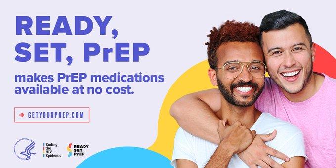 Ready, Set, PrEP makes PrEP medications available at no cost.
